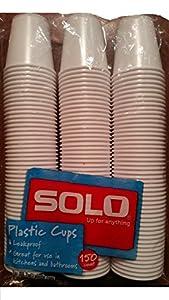 Amazon.com: Solo 3-Ounce Plastic Bathroom Cups, 150-Count ...