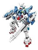 I Robots Gundam Diamond Blocks 479pcs Toy Set, 3D Figure Micro Blocks Fun Parent and Child Game.