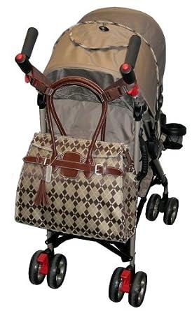 "Amazon.com : Kalencom 4.25"" Stroller Straps - Red with"