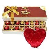 Someone Special Chocolates With Heart Pillow - Chocholik Belgium Chocolates
