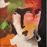 "Attic Studio Original Modern Art Painting (Acrylic On Canvas) By Sudhir Talmale (14""x14"")(g)"