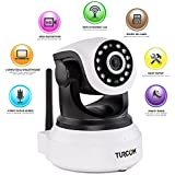 Turcom TS-620 720P, Cloud Network IP Camera, Wi-Fi, Video Monitoring, Surveillance, HD Security Camera, Wireless...