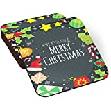 PosterGuy We Wish You A Merry Christmas Coaster - Set Of 6