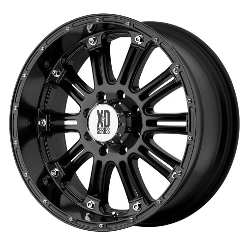XD Series by KMC Wheels XD795 Hoss Gloss Black Wheel With Clearcoat (17×9″/6×139.7mm, +18mm offset)