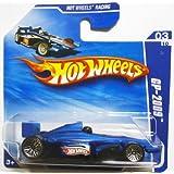 2009 Hot Wheels Blue Gp 2009 Indy Race Car #69/166, Hot Wheels Racing #3/10 (Short Card)