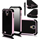 E-LV Hybrid Dual Layer Armor Defender Protective Case Cover (Hard Plastic With Soft Silicon) For Samsung Galaxy...