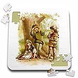 VintageChest - Shakespeare - Brundage - As You Like It - 10x10 Inch Puzzle (pzl_125998_2)