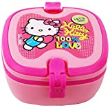 Sanrio Hello Kitty Lunch Box With Handle, 172mm, Red