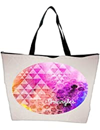 Snoogg Vector Watercolor Planet Background Waterproof Bag Made Of High Strength Nylon