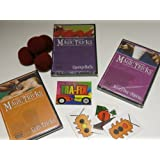 Amazing Easy To Learn Magic Tricks: Coin Magic Dvd, Spongeballs With Dvd, Magic With Everyday Objects Dvd, Emerson...