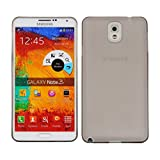 Cubix Translucent Series 0.3 MM Ultra Thin Matte Case Back Cover For Samsung Galaxy Note 3 N9000 (Grey)