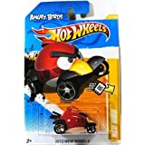 2012 Hot Wheels New Models 47/50 Angry Birds Red Bird