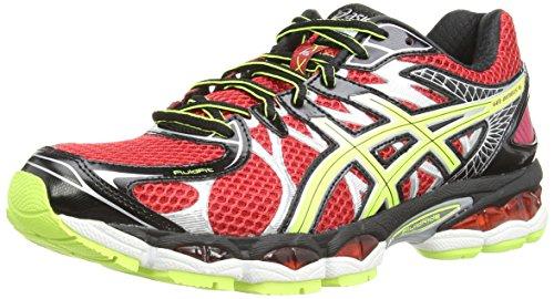 ASICS Gel-Nimbus 16 - Zapatillas de deporte para hombre, color rojo, talla 42.5
