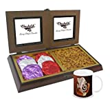 Chocholik Premium Gifts - Rocking Gift With Almonds & Belgium Chocolate Rocks With Diwali Special Coffee Mug -...