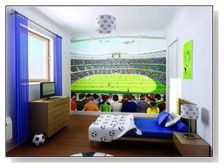 Football Crazy Wallpaper Mural