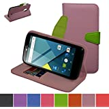 BLU Studio G Case,Mama Mouth [Stand View] Folio Flip Premium PU Leather [Wallet Case] With Built-in Media Stand...