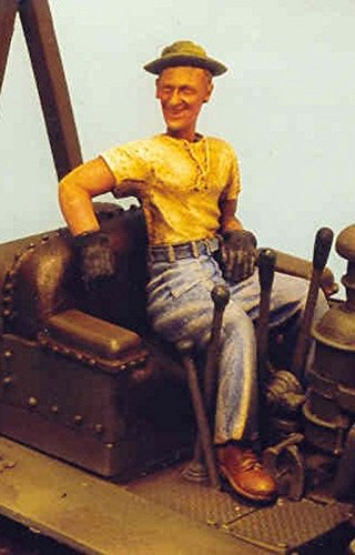 Resicast 1:35 US Bulldozer Driver Pacific War WWII (1 Figure) #355530
