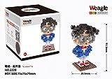 New Diamond Block Detective Conan Toys #2220 213pcs LOZ Production Parent-child Games Building Blocks Children's Educational Toys