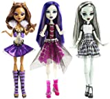 Monster High It's Alive Clawdeen Wolf Doll