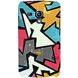 For Samsung Galaxy S3 Mini I8190 :: Samsung I8190 Galaxy S III Mini :: Samsung I8190N Galaxy S III Mini Raffiti Geometric Seamless Pattern ( Raffiti Geometric Seamless Pattern, Grunge Effect, Seamless Pattern ) Printed Designer Back Case Cover By FashionC