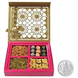 Chocholik Belgium Chocolates - Surprising Designer Gift Box For Whole Family With 5gm Pure Silver Coin - Diwali...