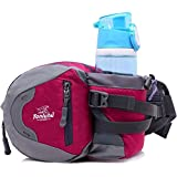 ChezMax Outdoor Waist Bag/ Running Belt/ Fanny Pack For Hiking Running Cycling