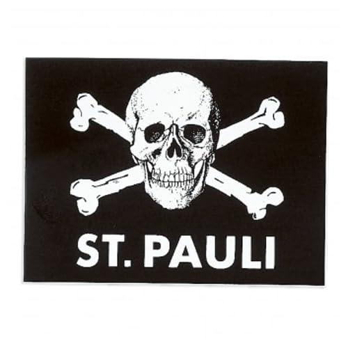 ST.PAULI(ザンクトパウリ) オフィシャル スカルロゴ ステッカー サッカー サポーター グッズ [並行輸入品]