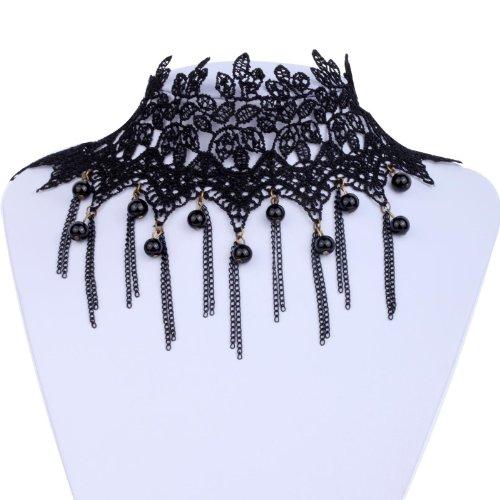 Victorian Tassel Collar Necklace