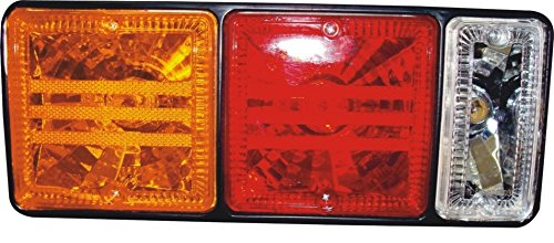 Truck Mitsubishi Canter Combination Tail Rear Lamp steel back set (LH+RH) 24V- 11007002