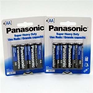 Amazon.com: Panasonic Heavy Duty Aa Battery 4 Pack(pack Of