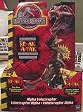Jurassic Park III Re-Ak A-Tak Alpha Velociraptor