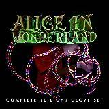 EmazingLights Alice in Wonderland eLite LED Glove Set Light Up Toy - As Seen on Shark Tank!