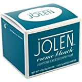 Jolen 1.2 Ounce Creme Bleach Reg Lightens Excess Dark Hair (29ml) (6 Pack)