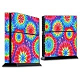Mightyskins Protective Vinyl Skin Decal Cover For Sony Play Station 4 Ps4 Console Wrap Sticker Skins Tie Dye 1