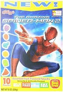 Kellogg's Fruit Snacks, Spiderman, 8-Ounce (Pack of 5)