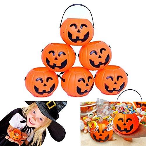 Mini Halloween Pumpkin Candy Holders
