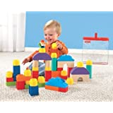 Fisher-Price Little People Builders Classic Shapes Blocks Toy, Kids, Play, Children