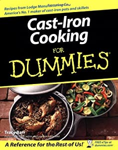 Amazon.com: Cast Iron Cooking For Dummies (9780764537141