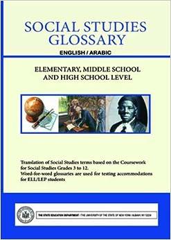 Social Studies Glossary - English/Arabic - Elementary