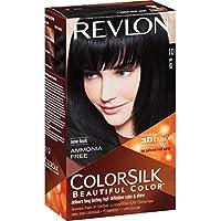Revlon Revlon Colorsilk Natural Hair Color 11 Soft Black 1 Ea, ( 2 Pack)