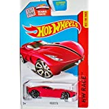 Hot Wheels 2015 Velocita HW Race 183/250 Red 1:64 Scale Red