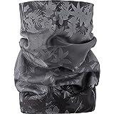 Salomon Tube Nylon-mesh Neck Fleece, Men's NS ( Subli Black/Galet Grey/Cloud)