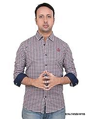 Stoke Jeans UGIM155 Men's Full Sleeve Slim Fit Shirt-Multi