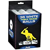 Franklin Sports 1 Star Table Tennis Balls (Pack Of 36), 40 Mm