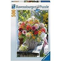 Ravensburger Puzzles Beautiful Flowers, Multi Color (500 Pieces)