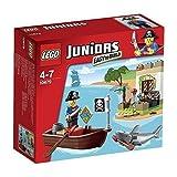 LEGO JUNIORS Pirates Treasure Hunt Pirate Skeleton Shark 10679 Japan