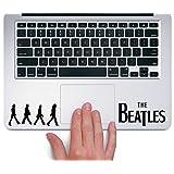 CVANU The Beatles Lapton Skin Stickers Black
