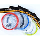 Generic 5 Red, China : 1Set 5Colors Pro Road Bike Brake Cable Set Hydraulic Disc Brake Line Housing Cable End...