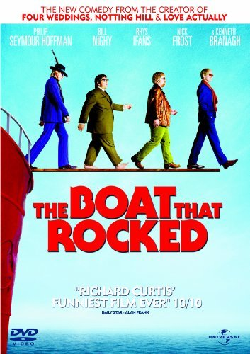The Boat That Rocked (aka Pirate Radio, aka Good Morning England, aka Radio Rock Revolution) [NON-USA FORMAT, PAL, Region 2/4 Import - Great Britain]