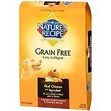 Nature's Recipe Grain Free Chicken, Sweet Potato & Pumpkin Recipe Dry Dog Food, 24-Pound